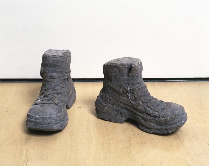 Sarah Lucas - Concrete Boots