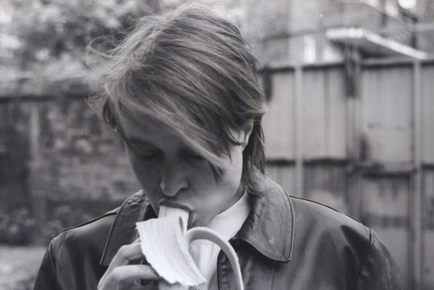 Sarah Lucas - Eating A Banana (for Grenfell)