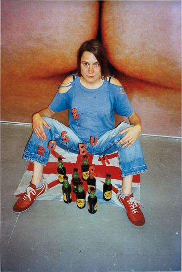 Sarah Lucas-God is Hip-2005