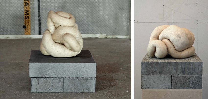 Sarah Lucas contact whitechapel gallery for contact and installation view of the works from 2013 exhibitions