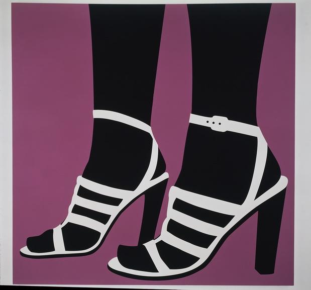 Sarah Morris -High Heels