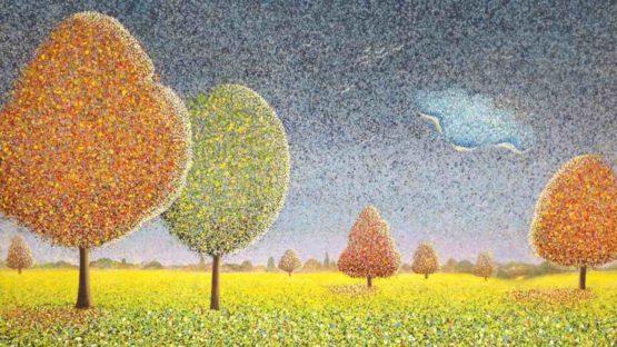Sarah Pye - Autumn Migration, 2019 (detail)