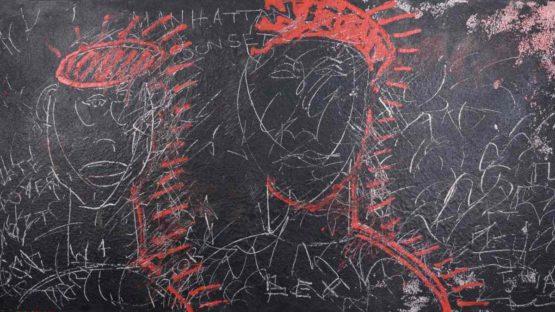 Sax Berlin - Bloods, Manhattan Sunset, 2019, (detail)