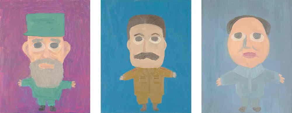 Scott Reeder-Cute Communists - Castro, Stalin, Mao-2007
