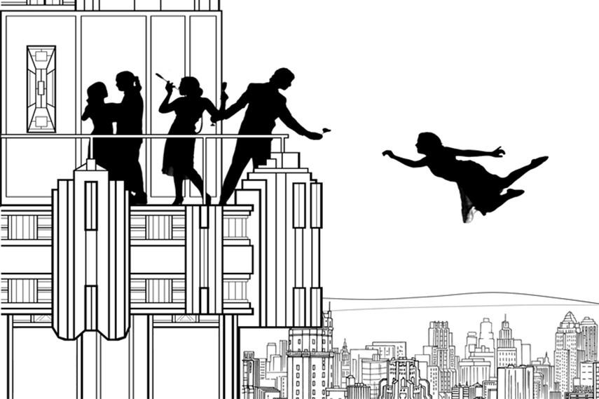 Scott Snibbe - Falling Girl design