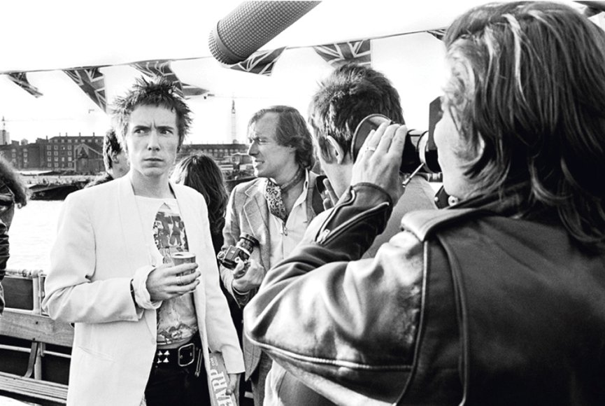 Sex Pistols, photo by Dennis Morris