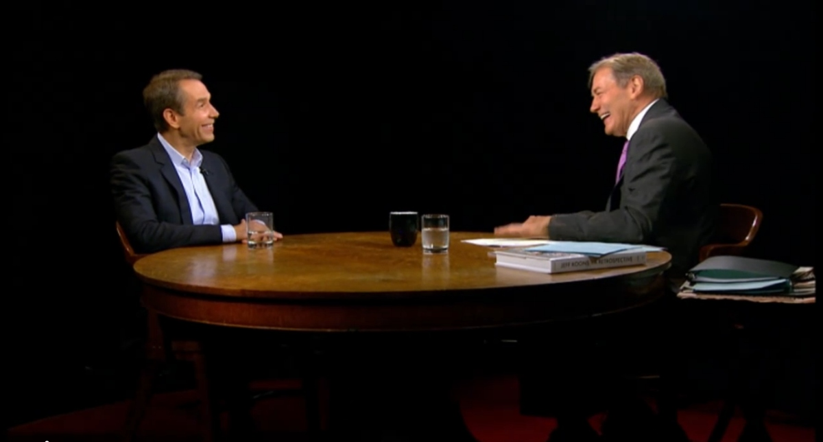 Interview Highlights: Jeff Koons on Charlie Rose