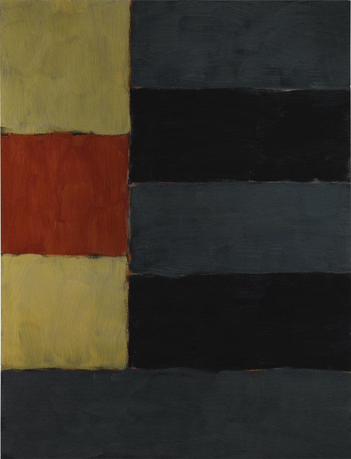 Sean Scully-Enter Yellow-1999