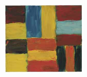 Sean Scully-Wall of Light Orange Red-2014
