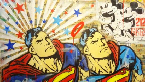 Sean Sullivan - Hero - Superman, 2016 (detail)
