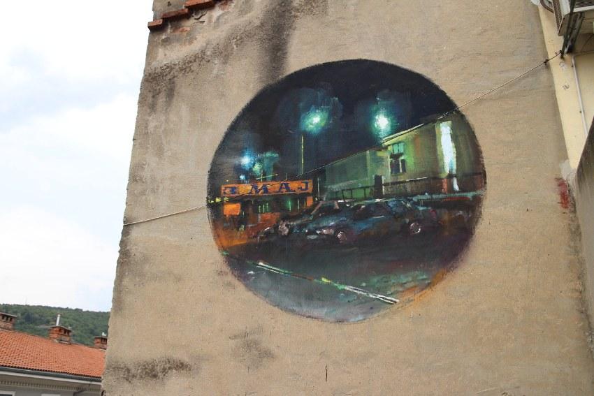 Sebas Velasco - Explorare Necesse Est, detail 3, Rijeka, Croatia, 2016