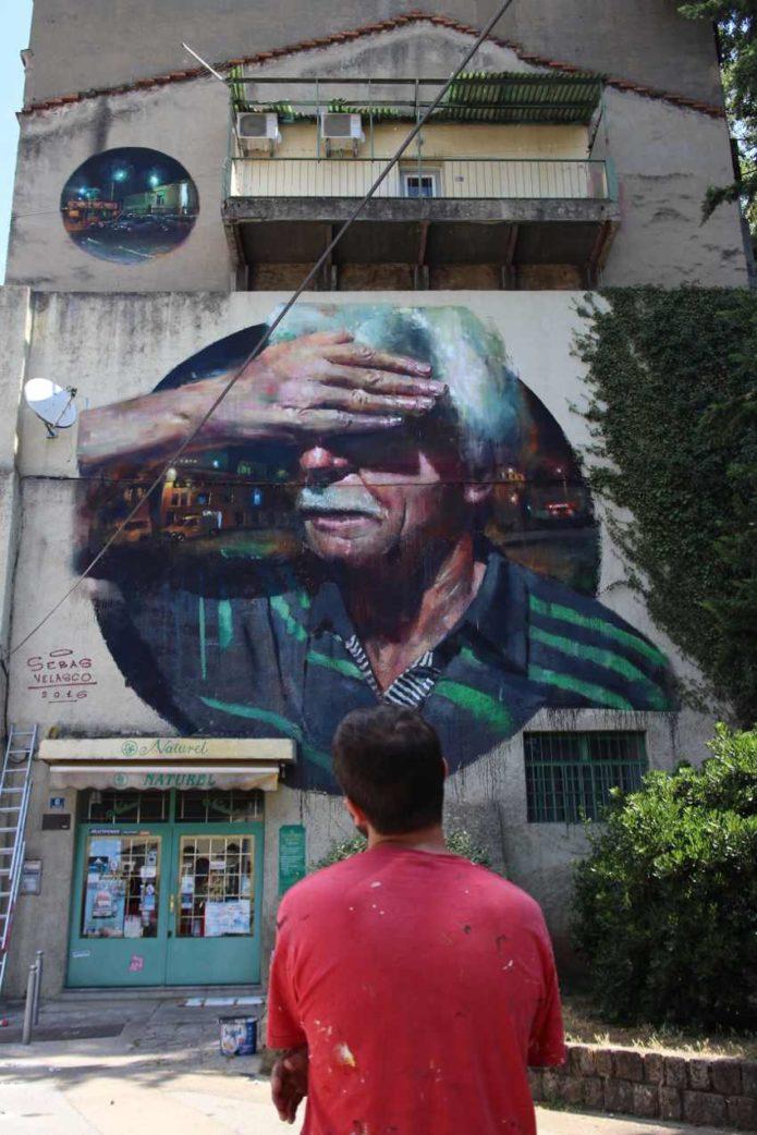 Sebas Velasco - Explorare Necesse Est in Rijeka, Croatia, 2016