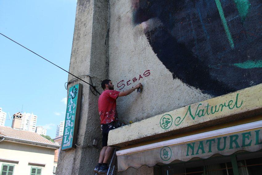 Sebas Velasco - Explorare Necesse Est, work in progress 2, Rijeka, Croatia, 2016