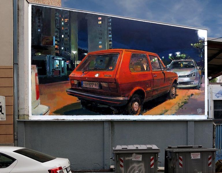 Sebas Velasco. Photo by Walls of Belgrade, Igor Svetel