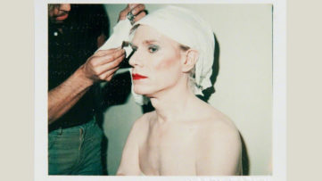 Self-Portrait (Andy Warhol in Drag)