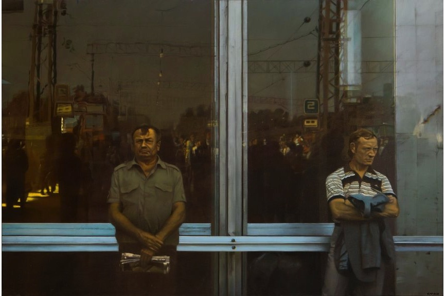 Semyon Faibisovich - Waiting, 1989; one of the most famous artists in russia