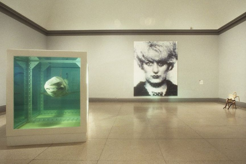 Sensation: Young British Artists from the Saatchi Collection in London