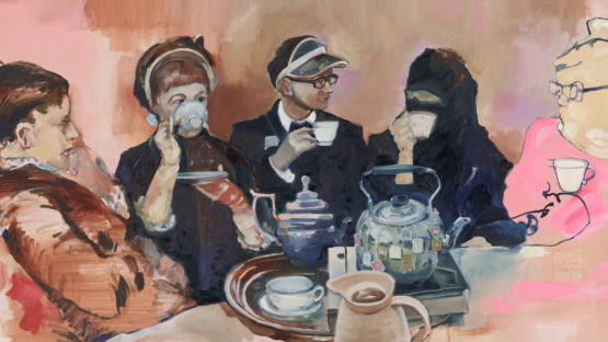 Serge Nyfeler-Tea Time, 2013 (detail) - Courtesy of SOON Editions