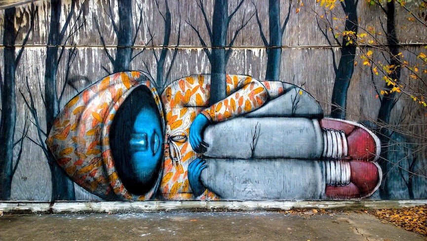 Murals in the US