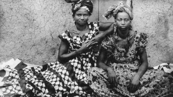 Seydou Keita - Portrait of Senegalese women (detail), c. 1950