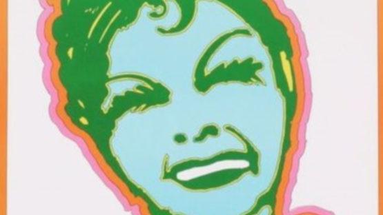Seymour Chwast - Judy Garland, 1967 (detail)