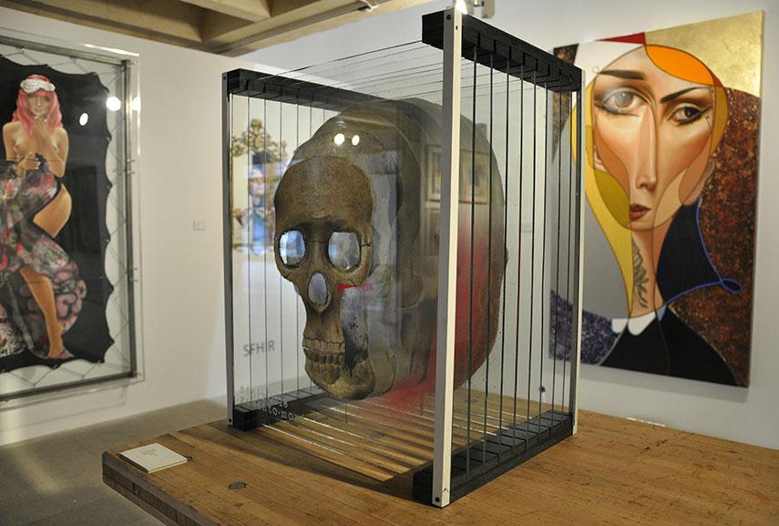 Sfhir at Duran Gallery