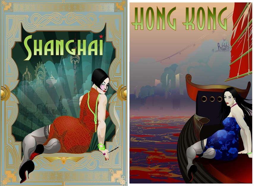 Shanghai & Hong Kong