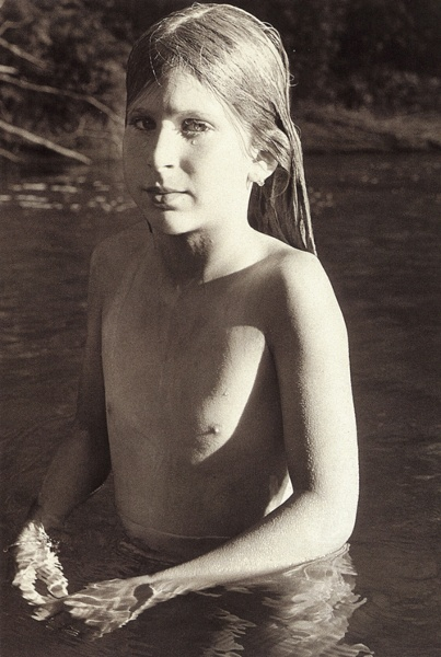 Sheila Metzner - Evyan, Kinderhook Creek,  1975 - Photo Credits by Sheila Metzner