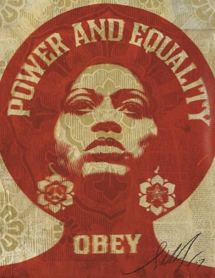 Shepard Fairey-Afrocentric-2007