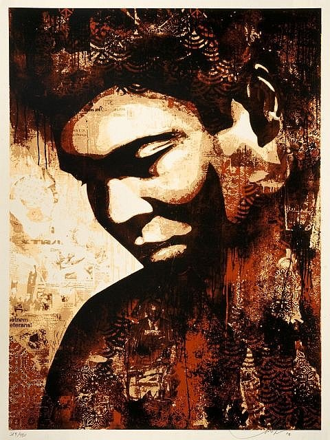 Shepard Fairey-Ali Canvas-2010