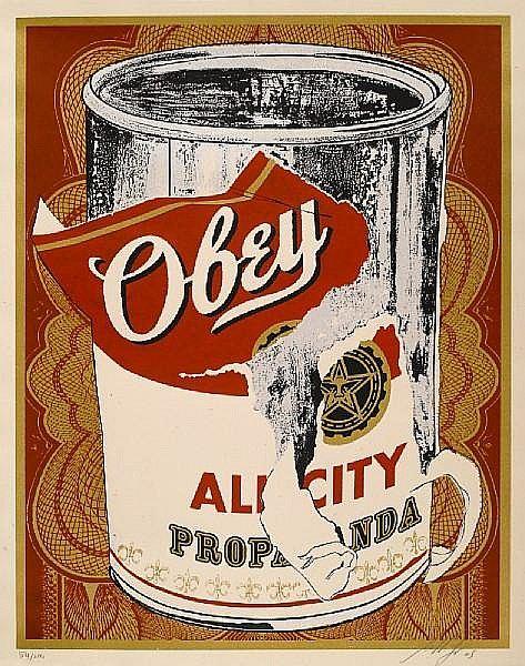 Shepard Fairey-All City Propaganda-2005