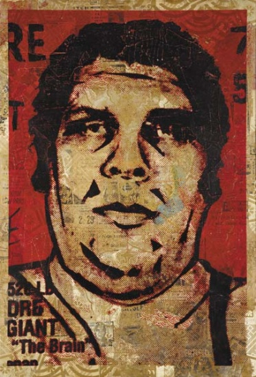Shepard Fairey-Andre The Giant-2005