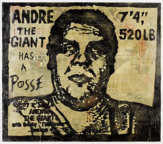 Shepard Fairey-Andre the Giant-2008