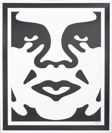 Shepard Fairey-Andre the Giant Face-2005