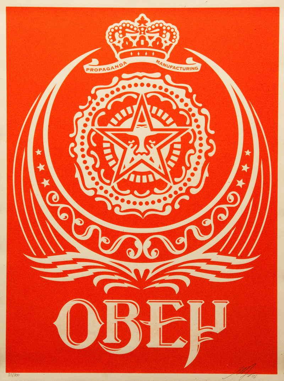 Shepard Fairey-Ankara Red-2005