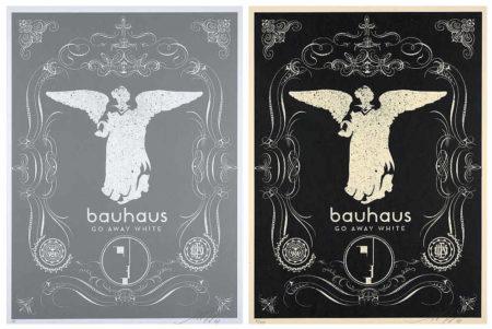 Shepard Fairey-Bauhaus (Silver and Black)-2008