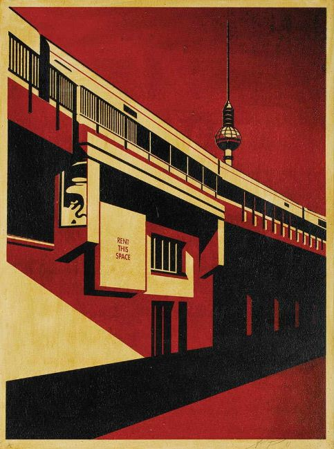 Shepard Fairey-Berlin Tower-2011