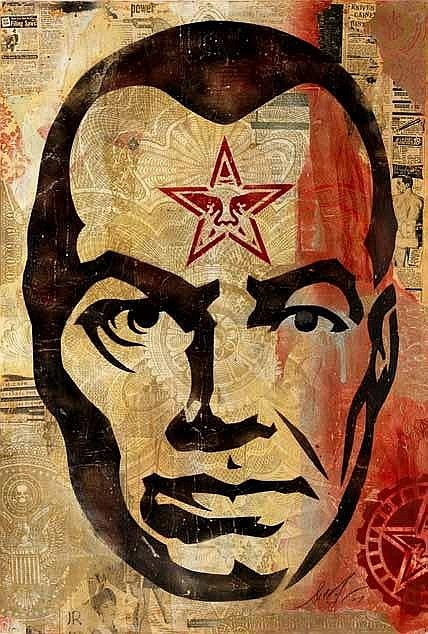 Shepard Fairey-Big Brother-2007