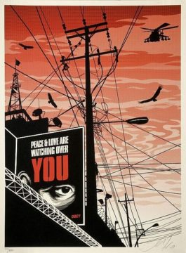 Shepard Fairey-Big Brother City-2007