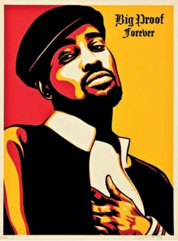 Shepard Fairey-Big Proof Forever-2006