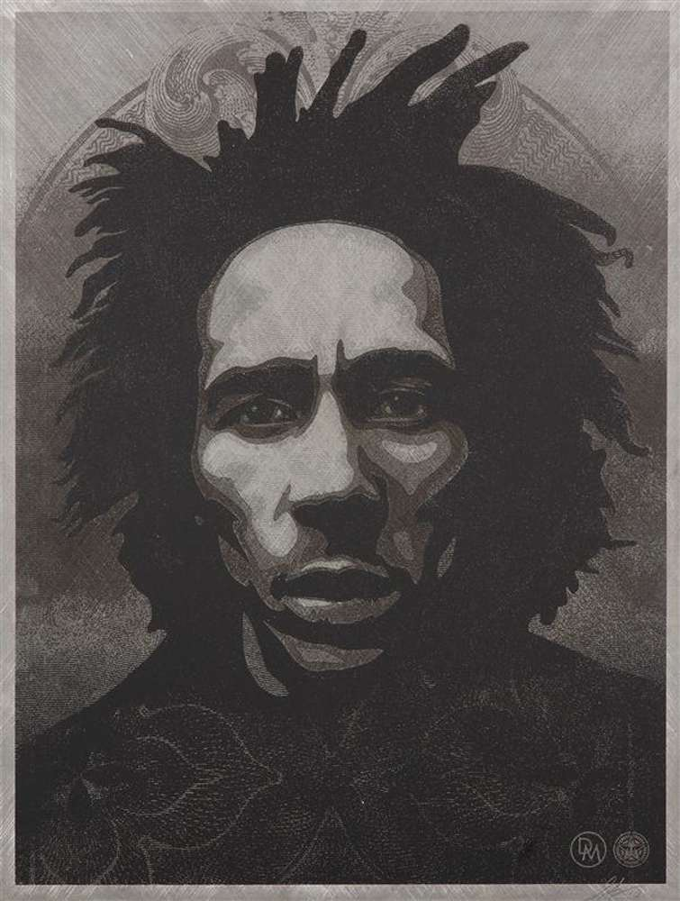 Shepard Fairey-Bob Marley-2014