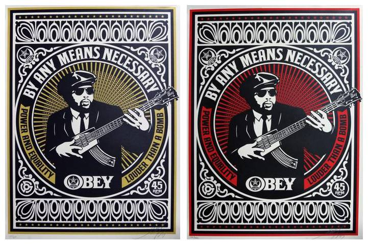 Shepard Fairey-By Any Means Necessary Set-2007