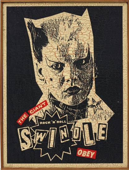 Shepard Fairey-Catwoman Swindle-2002