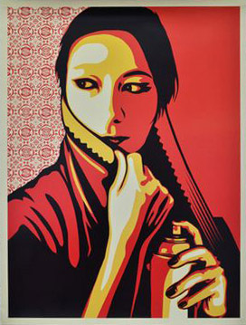 Shepard Fairey-Commanda-2007