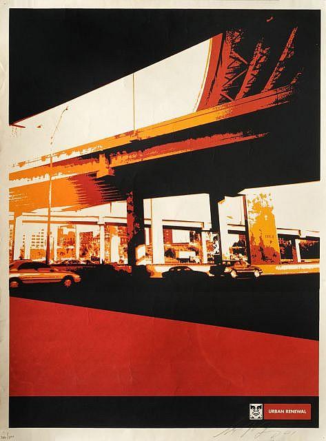 Shepard Fairey-Dallas Highway-2001
