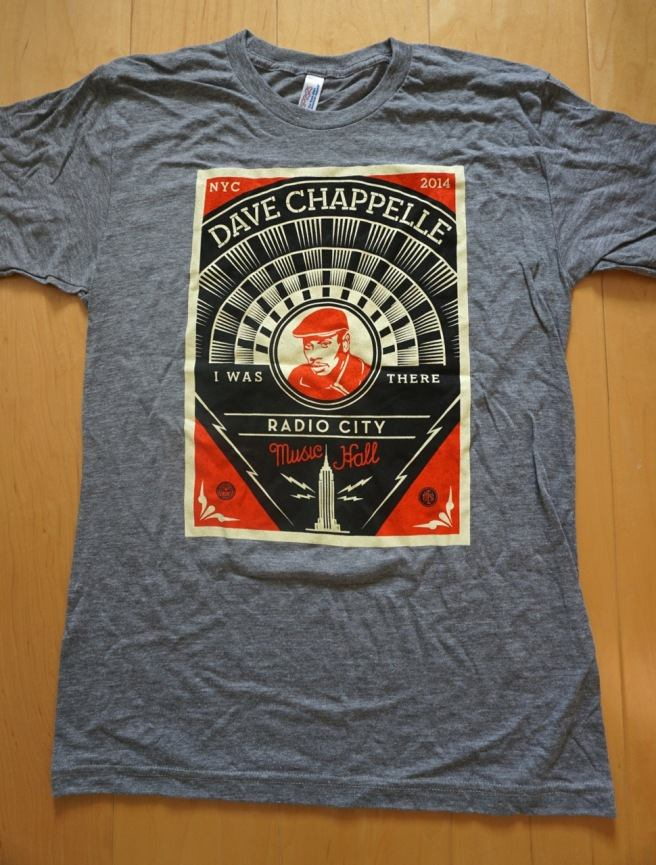 Shepard Fairey's design for Dave Chappelle's show