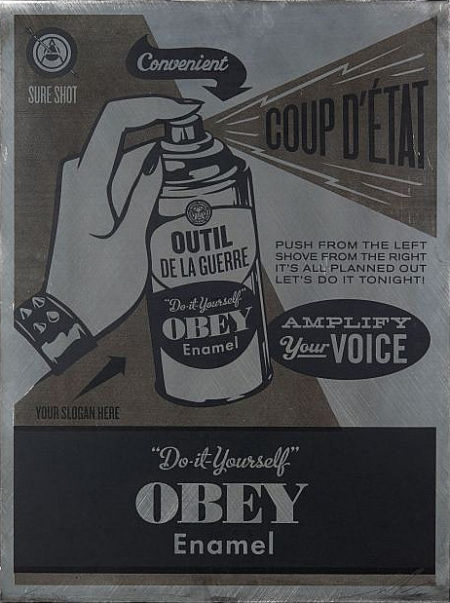Shepard Fairey-Do it Yourself-2012