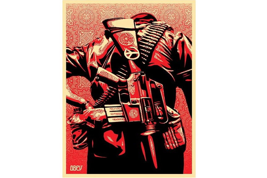 Shepard Fairey - Duality of Humanity #2, 2008
