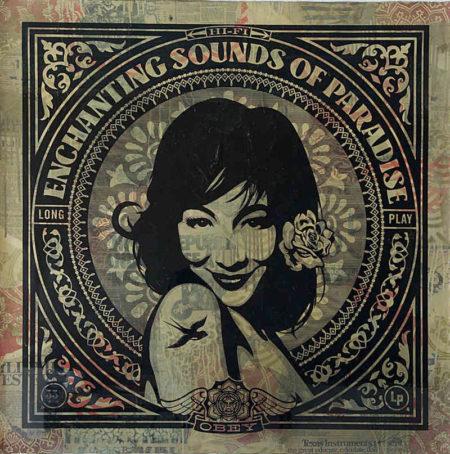Shepard Fairey-Enchanting Sounds-2011