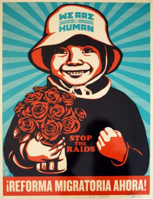 Shepard Fairey-Ernesto Yerena-Shepard Fairey & Ernesto Yerena - We are Human-2009